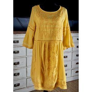 Anthropologie Akemi + Kin Laced Tunic Dress